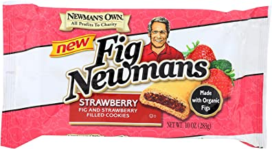 Newman's Own Organics Fig Newmans,Organic ,Strawber 10 Oz (Pack Of 6)