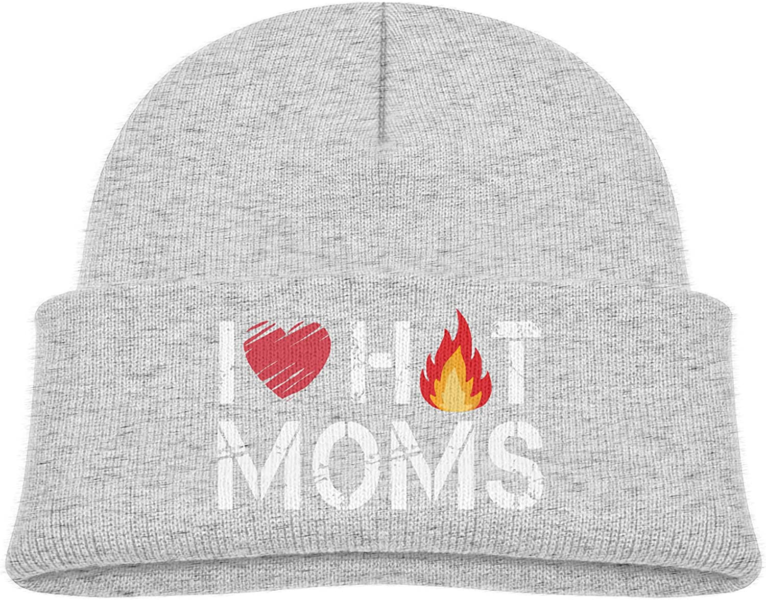 I Max 73% OFF Love Hot Moms Trendy Bump Knit Beanie Cap for Winter Hats Year-end annual account