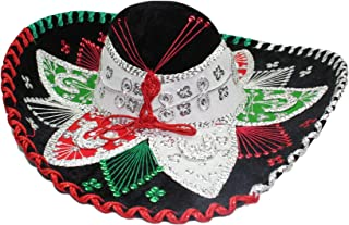 black mariachi sombrero
