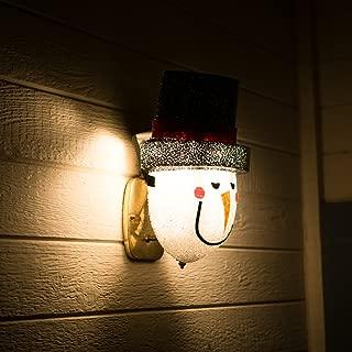 ienjoyware Snowman Porch Light Cover — Christmas Outdoor Decorations