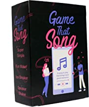 Game That Song - Music Card Game for Family, Adults, and Kid