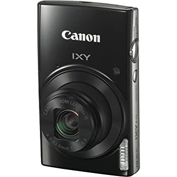 Canon キヤノン コンパクトデジタルカメラ IXY210 ブラック 光学10倍ズーム IXY210(BK)