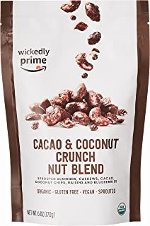 Wickedly Prime Organic Sprouted Nut Blend, Cacao & Coconut Crunch, 6 Ounce