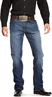 ARIAT Men's Relentless Relaxed Fit Stretch Double Stitch Boot Cut Jean