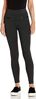 Marchio Amazon - Daily Ritual - Ponte Zip Pants, pants Donna