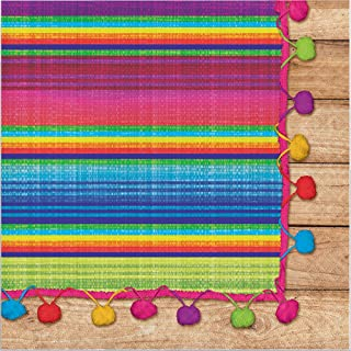 Creative Converting 322289 192 Count Lunch Paper Napkins, Serape