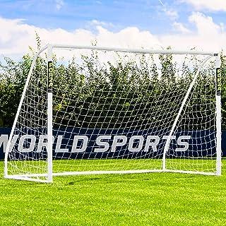 Net World Sports Forza Fußballtore – das Beste Tor bei jedem Wetter – 5 Größen (3m x 2m mit einem Klicksystem)