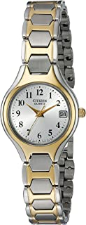 Citizen Women's Quartz Two-Tone Watch with Date, EU2254-51A
