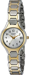 Citizen Women's Two-Tone Stainless Steel Easy Reader Watch