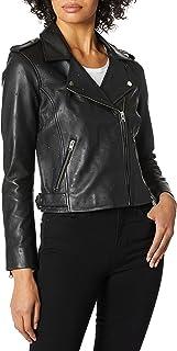 Lucky Brand womens PIN DOT MOTO JACKET Jacket