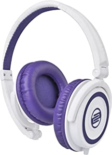 $29 » Reloop RHP-5 DJ Headphones, Purple Milk
