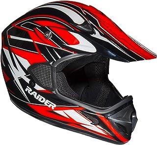 Raider RX1 capacete adulto unissex MX off-road
