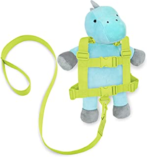 Travel Bug Toddler Character 2-in-1 Safety Harness (Dinosaur - Teal/Grey)