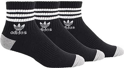 adidas Men's Originals Cushioned Quarter Socks (3-Pack)