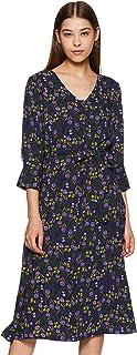 Amazon Brand - Eden & Ivy Crepe Shirt Dress