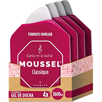 Moussel - Gel Ducha Clasico, Pack de 4x900ml: Amazon.es: Belleza