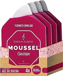 Moussel Gel de Ducha Clasico - Pack de 4 x 900 ml - Total: