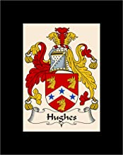 Carpe Diem Designs Hughes Coat of Arms/Hughes Family Crest 8X10 Photo Plaque, Personalized Gift, Wedding Gift
