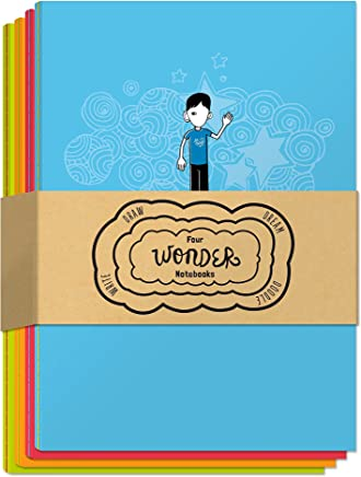 Four Wonder Notebooks: Draw, Dream, Doodle, and Write