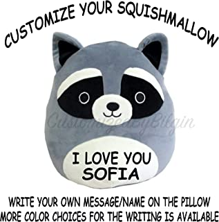Squishmallow Customized Original Kellytoy Rocky The Raccoon 8