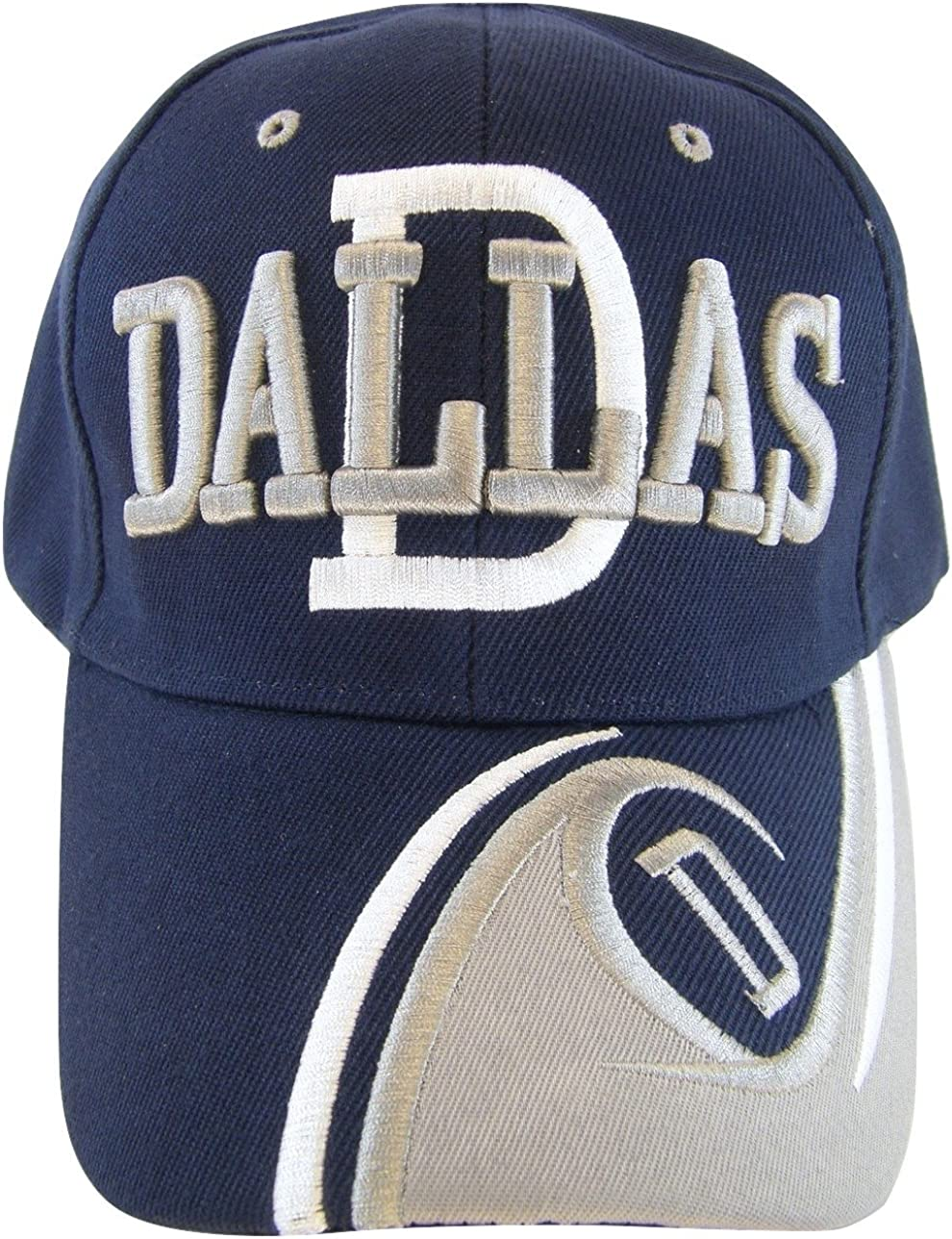 Dallas Men's D Animer and price revision Wave Baseball Cap Pattern Adjustable High quality new