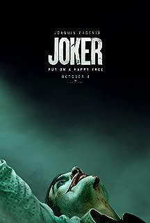 映画 ジョーカー バットマン 約90cm×60cm シルク調生地のアートポスター 02 ホアキン・フェニックス ロバート・デニーロ ダークナイト トッド・フィリップス