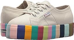 Superga 2790 Cot 14 Colorsfoxingw Platform Sneaker