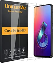 [3 Pack] UniqueMe Compatible with Asus Zenfone 6 ZS630KL Screen Protector,9H Hardness Bubble Free Tempered Glass