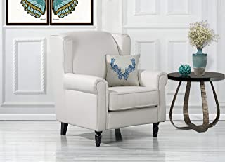 Amazon.com: White - Chairs / Living Room Furniture: Home & Kitchen