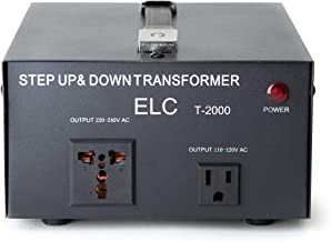 Best step up transformer 110v to 220v 2000w Reviews