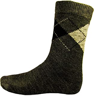 Pack 3 Calcetines rizo rombos Hombre