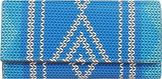 ShopMantra Blue Canvas Women's Wallet (LW00000171)