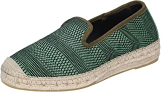 Vidorreta Loafer Flats Mens Leather Green