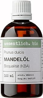 Mandelöl BIO kaltgepresst 100ml Prunus Dulcis von wesentlich.
