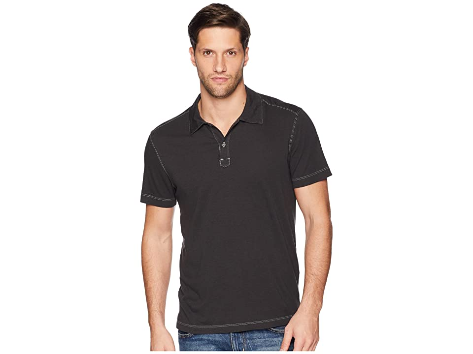 Agave Denim Cape Town Short Sleeve Polo (Stretch Limo) Men