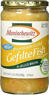 Best manischewitz premium gold gefilte fish Reviews