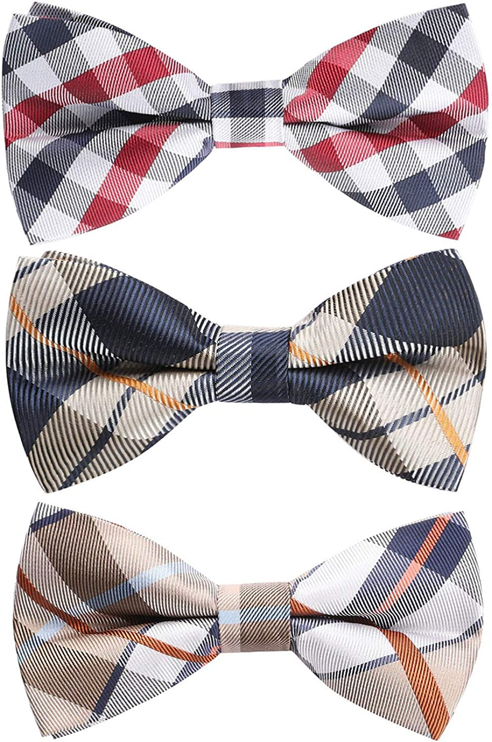 Ranking TOP7 HISDERN 3 6 Super sale Pack Mixed Design Pre-tied Adjustable with Bow Ties