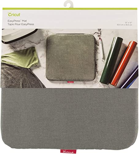 "Cricut Easy 12""x12"" EasyPress, Protective Resistant Mat for Heat Press Machines and HTV and Iron On Projects, [12"" x ..."