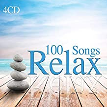 4 CD 100 Songs Relax, Música relajante y tranquila, Wellness Relax, Lounge Music, Relaxing, Meditation, Sound Of Nature, Chillout Music, Spa Music