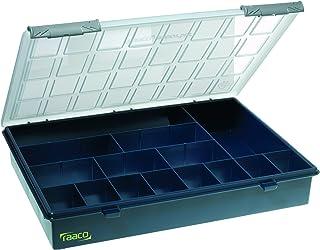 raaco 136174 Assorter 4-15 - Caja organizadora, color azul oscuro