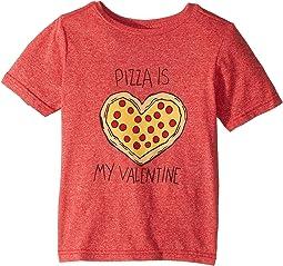 Pizza Is My Valentine Mocktwist Tee (Toddler)
