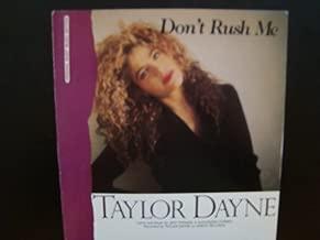 Don't Rush Me / Taylor Dayne / Piano Vocal Guitar