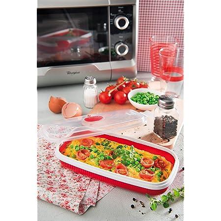 WOWOWO 1 Pz Cucina Microonde Bacon Maker Egg Cooker for Breakfast Cucina Strumenti di Cottura Accessori