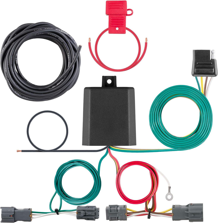 For 2014-2018 Kia Sorento Trailer Hitch 4-Way Output Wire Harness ...