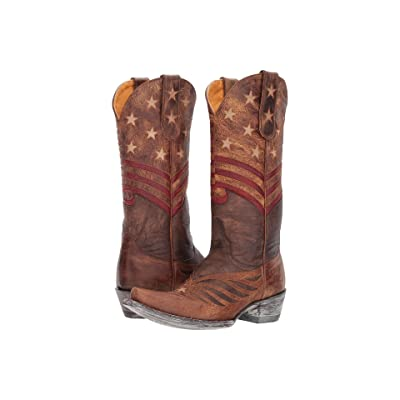 Old Gringo United (Chocolate/Brass) Cowboy Boots