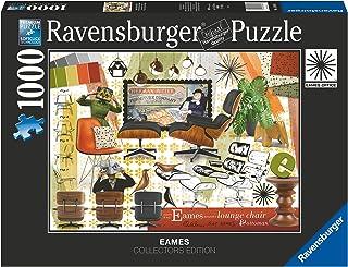 Ravensburger Puzzel, 1000 stukjes, Eames Design Classics, puzzel voor volwassenen, Ravensburger kwaliteit, Jigsaw puzzel