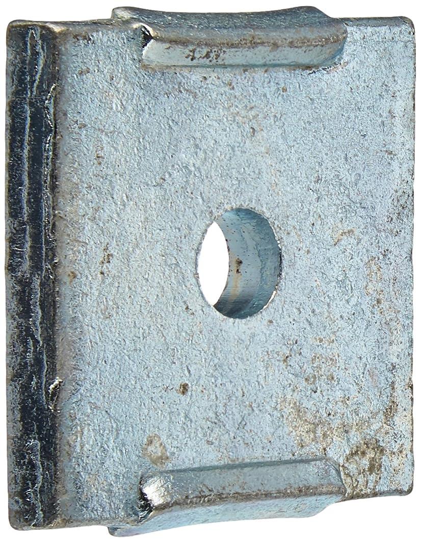 VERSABAR VF-1101-N-1/4 NOTCHED SQUARE WASHER 1/4