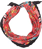Alice + Olivia - Matilda Printed Pleated Scarf