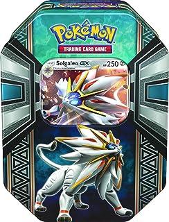 Pokémon TCG Legends of Alola Tin Card Game, Solgaleo GX or Lunala GX