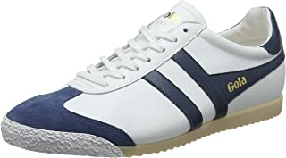 Gola Harrier 50 Leather Mens Classic Trainers